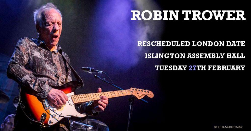 Robin trower tour dates in Brisbane